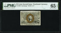 Fractional Currency:Second Issue, Fr. 1288 25¢ Second Issue PMG Gem Uncirculated 65 EPQ.. ...