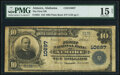 Atmore, AL - $10 1902 Plain Back Fr. 631 The First National Bank Ch. # 10697 PMG Choice Fine 15 Net