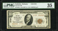 Gadsden, AL - $10 1929 Ty. 2 The First National Bank Ch. # 13728 PMG Choice Very Fine 35