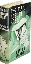 Books:Mystery & Detective Fiction, David T. Lindsay. The Man Nobody Knew. London: John Hamilton Limited, [no date but likely 1938]. Presumed First Edit...
