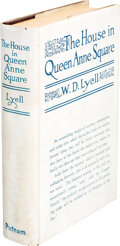 Books:Mystery & Detective Fiction, W.D. Lyell. The House in Queen Anne Square. New York and London: G.P. Putnam's Sons, 1921. First Edition....