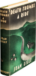 Books:Mystery & Detective Fiction, Jean Lilly. Death Thumbs a Ride. New York: E.P. Dutton& Co., 1940. First Edition....