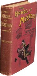 Books:Mystery & Detective Fiction, Richard Marsh. The House of Mystery. London: F. V. White & Co., 1898. Presumed first edition....