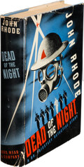 Books:Mystery & Detective Fiction, John Rhode. Dead of the Night. New York: Dodd, Mead & Co., 1942. First edition....
