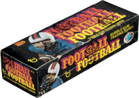 1976 Topps Football Wax Box With 36 Unopened Packs - Payton Rookie Year!