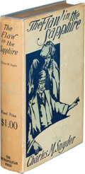 Books:Mystery & Detective Fiction, Charles M. Snyder. The Flaw in the Sapphire. New York: Metropolitan Press, 1909. First edition....