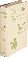 Books:Mystery & Detective Fiction, Richard Henry Savage. Captain Landon. A Story of Modern Rome. Chicago and New York: Rand, McNally & Co., [18...
