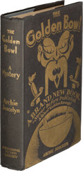 Books:Mystery & Detective Fiction, Archie Joscelyn. The Golden Bowl. Cleveland and New York: International Fiction Library, 1921....