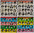Music Memorabilia:Recordings, The Rolling Stones Some Girls Vinyl LPs With Different Covers (4). ...