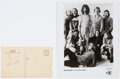 Music Memorabilia:Autographs and Signed Items, Frank Zappa Signed Fillmore East Postcard With Promo Photo. ...