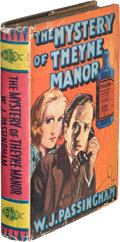 Books:Mystery & Detective Fiction, W. J. Passingham. The Mystery of Theyne Manor. London: Mellifont Press, [N.D. but 1937]....