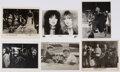 Music Memorabilia:Photos, Andy Warhol/Heart/Every Brothers/Cliff Richard/Cortelia Clark/Youngbloods Collection of Glossy Photos (6). ...
