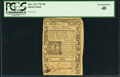 Colonial Notes:Rhode Island, Rhode Island March 18, 1776 30 Shillings Fr. RI-238 PCGS Extremely Fine 40.. ...