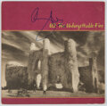 Music Memorabilia:Autographs and Signed Items, Bono Signed The Unforgettable Fire Vinyl LP (Island, 90231-1). ...