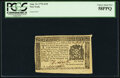 Colonial Notes:New York, New York August 13, 1776 $1/8 Fr. NY-199 PCGS Choice About New 58PPQ.. ...