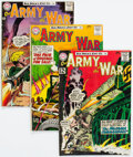 Silver Age (1956-1969):War, Our Army at War Group of 6 (DC, 1962-64) Condition: VG+.... (Total: 6 Comic Books)