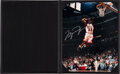 Baseball Collectibles:Photos, 1990's Michael Jordan Signed Limited Edition UDA Photograph in Custom Sleeve....