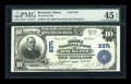 National Bank Notes:Maine, Rockland, ME - $10 1902 Plain Back Fr. 632 The North NB Ch. # 2371....