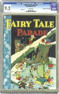 Fairy Tale Parade #8 Mile High pedigree (Dell, 1943) CGC NM- 9.2 White pages. One of the wonderful things about the lege...