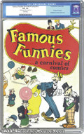 Golden Age (1938-1955):Cartoon Character, Famous Funnies: A Carnival of Comics #nn (Eastern Color, 1933) CGCFN- 5.5 Cream pages. This historic issue is reputed to be...