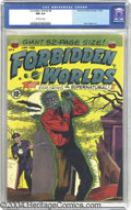 Golden Age (1938-1955):Horror, Forbidden Worlds #4 (ACG, 1952) CGC NM 9.4 Off-white pages. PaulCooper art. This currently holds first place in grade among...