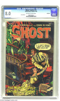 Golden Age (1938-1955):Horror, Ghost Comics #11 Bethlehem pedigree (Fiction House, 1954) CGC VF8.0 Off-white to white pages. George Evans and Jerry Grande...