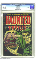 Golden Age (1938-1955):Horror, Haunted Thrills #2 Bethlehem pedigree (Farrell, 1952) CGC VF/NM 9.0Off-white pages. L. B. Cole cover. This is the highest-g...