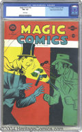Golden Age (1938-1955):Adventure, Magic Comics #14 Mile High pedigree (David McKay Publications,1940). CGC FN+ 6.5 White pages. Overstreet 2002 FN 6.0 value ...