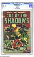 Golden Age (1938-1955):Horror, Out Of The Shadows #6 Bethlehem pedigree (Standard, 1952) CGC VF8.0 Off-white pages. Here's the second issue of this scary ...