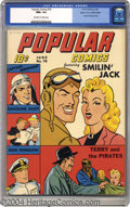 Golden Age (1938-1955):Cartoon Character, Popular Comics #76 (Dell, 1942) CGC NM+ 9.6 Off-white to white pages. No untested characters here -- Popular Comics live...