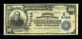 National Bank Notes:Maryland, Hagerstown, MD - $10 1902 Date Back Fr. 618 The Second NB Ch. #(E)4049. ...
