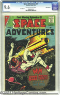 Silver Age (1956-1969):Science Fiction, Space Adventures #27 White Mountain pedigree (Charlton, 1959) CGCNM+ 9.6 Off-white to white pages. The terrific outer space...