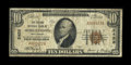 National Bank Notes:West Virginia, Morgantown, WV - $10 1929 Ty. 1 The Second NB Ch. # 2458. ...