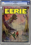 Magazines:Horror, Eerie #5 (Warren, 1966) CGC NM+ 9.6 Off-white pages. This near-flawless specimen has earned CGC's highest grade awarded to ...