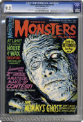 """Magazines:Horror, Famous Monsters of Filmland #36 (Warren, 1965) CGC NM- 9.2 Cream to off-white pages. If Vic Prezio's """"The Mummy's Ghost"""" cov..."""