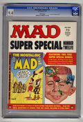 Magazines:Mad, Mad Super Special #12 (EC, 1974) CGC NM 9.4 White pages. Includes the comic book The Nostalgic Mad #2. Overstreet 2004 N...