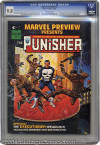 Marvel Preview #2 (Marvel, 1975) CGC NM/MT 9.8 Off-white pages. Collectors are becoming aware of this long-undervalued B...