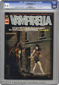 Bronze Age (1970-1979):Horror, Vampirella #6 (Warren, 1970) CGC NM+ 9.6 Off-white pages. KenKelly's creepy cover is enough to keep a girl out of monster-r...