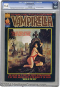 Magazines:Horror, Vampirella #41 (Warren, 1975) CGC NM 9.4 White pages. Draculastory. Painted cover by Enrich. Esteban Maroto and Jose Gonzal...