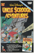 """Memorabilia:Miscellaneous, Carl Barks - """"Horsing Around with History"""" Script and Signed Comic Book (Gladstone, 1995). This story, written in 1994, was ... (Total: 4 items Item)"""