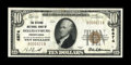 National Bank Notes:Pennsylvania, Hollidaysburg, PA - $10 1929 Ty. 1 The Citizens NB Ch. # 6874. ...