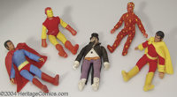 Mego Superhero Action Figures Group (Mego, 1970s). An impressive collection of 26 action figures from Mego's World's Gre...