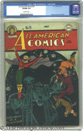 Golden Age (1938-1955):Superhero, Captain Marvel Adventures #34 (Fawcett, 1944) CGC NM- 9.2 Off-white pages. A colorful clown cover is showcased nicely by the...