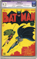 Batman #1-500 Group and much more (DC, 1940-2000). Have a look at every collector's dream: a complete run of the first 5...