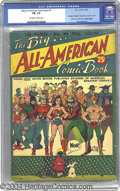 Golden Age (1938-1955):Superhero, Big All-American Comic Book #1 (DC, 1944) CGC FN- 5.5 Off-white to white pages. A tremendous compilation of work went into t...