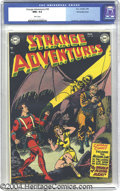 Golden Age (1938-1955):Science Fiction, Strange Adventures #18 White Mountain pedigree (DC, 1952) CGC NM+9.6 White pages. This classic cover is Murphy Anderson's f...