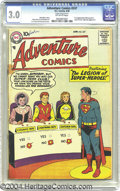 Silver Age (1956-1969):Superhero, Adventure Comics #247 (DC, 1958) CGC GD/VG 3.0 Off-white pages. First appearance of the Legion of Super-Heroes in the Superb...