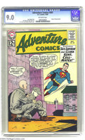 Silver Age (1956-1969):Superhero, Adventure Comics #301 (DC, 1962) CGC VF/NM 9.0 Off-white pages. Who can forget the day Bouncing Boy applied to join the Legi...