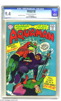 Silver Age (1956-1969):Superhero, Aquaman #25 (DC, 1966) CGC NM 9.4 Off-white to white pages. Nick Cardy cover and art. Aquababy appearance. As of this writin...