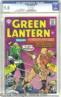 Silver Age (1956-1969):Superhero, Green Lantern #39 (DC, 1965) CGC NM/MT 9.8 Off-white pages. Let'sget ready to rummm-bllle! This tale of a boxing match for ...